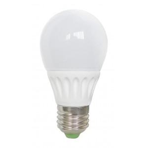 Bec Led Spin E27, model glob A50, 5W=45W, 2700K, lumina calda