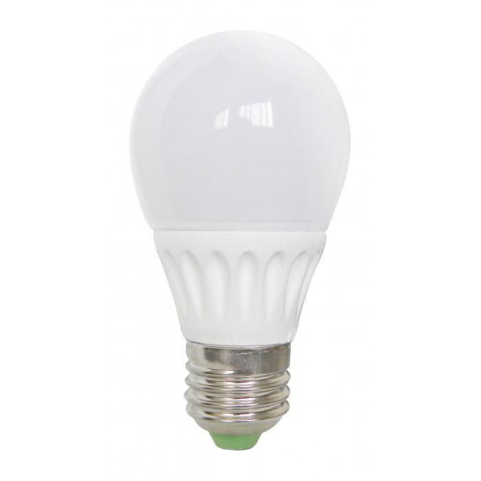 Bec Bl Led E27, model glob A55, 5W=45W, 2700K, lumina calda