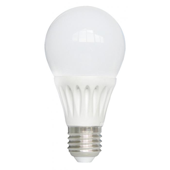 Bec Bl Led E27, model glob A60, 7W=60W, 2700K, lumina calda