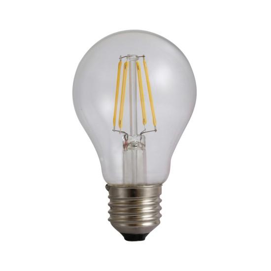 Bec Filament E27, model A60, 4W=45W, 4000K, lumina neutra