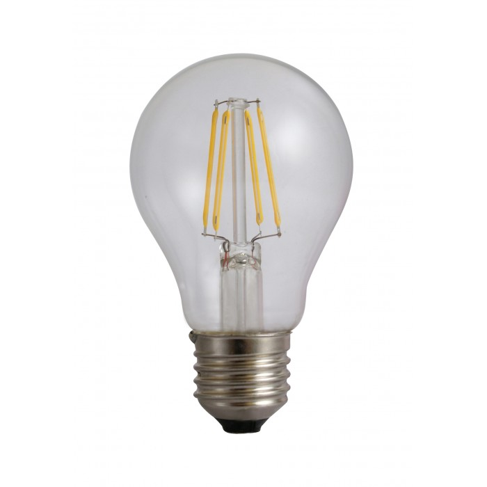 Bec Filament E27, model A60, 4W=45W, 4000K, lumina neutra