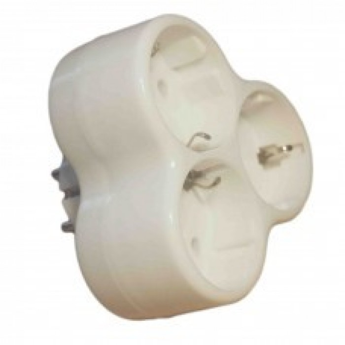 Adaptor Triplu Stea, 3 Cp